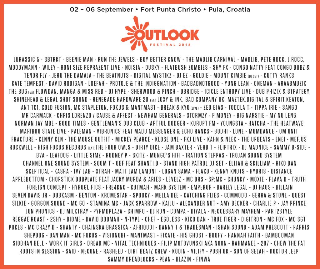 Outlook Festival 2015