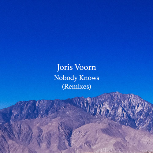 Joris Voorn Nobody Knows Remixes